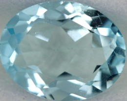 BLUE TOPAZ NATURAL FACETED  2.75 CTS SG-1791