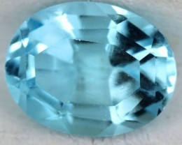 BLUE TOPAZ NATURAL FACETED  2.4 CTS SG-1820
