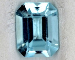 BLUE TOPAZ NATURAL FACETED  1.7 CTS SG-1817