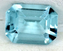 BLUE TOPAZ NATURAL FACETED  2 CTS SG-1814