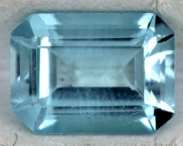 BLUE TOPAZ NATURAL FACETED 1.7  CTS SG-1811