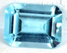 BLUE TOPAZ NATURAL FACETED 1.55  CTS SG-1840