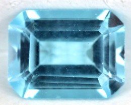 BLUE TOPAZ NATURAL FACETED 1.8  CTS SG- 1839