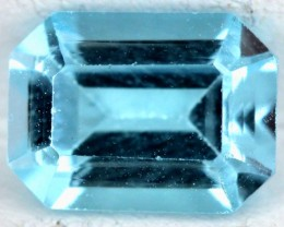 BLUE TOPAZ NATURAL FACETED 2  CTS SG-1838