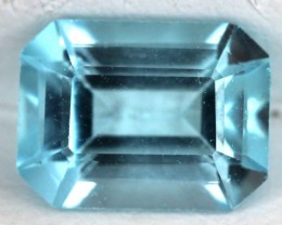 BLUE TOPAZ NATURAL FACETED   1.7 CTS SG-1837