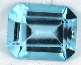 BLUE TOPAZ NATURAL FACETED  1.7 CTS SG-1836