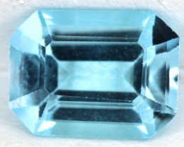 BLUE TOPAZ NATURAL FACETED  1.7 CTS SG-1833