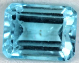 BLUE TOPAZ NATURAL FACETED  2.4 CTS SG-1832