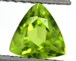 PERIDOT FACETED STONE  1.35  CTS    SG -1871