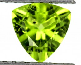 PERIDOT FACETED STONE  1.10  CTS    SG -1872