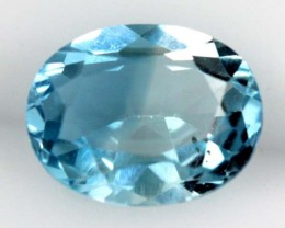 BLUE TOPAZ NATURAL FACETED  2.10 CTS SG-1851