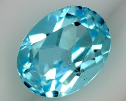 2.60 CTS BLUE TOPAZ NATURAL FACETED  SG-1852