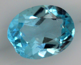 2.30 CTS BLUE TOPAZ NATURAL FACETED  SG-1854
