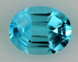 2.85  CTS BLUE TOPAZ NATURAL FACETED  SG-1855