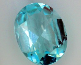 2.25  CTS  BLUE TOPAZ NATURAL FACETED SG-1858
