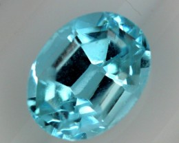 BLUE TOPAZ NATURAL FACETED  2.95 CTS SG-1859