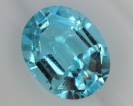 BLUE TOPAZ NATURAL FACETED  2.45 CTS SG-1860