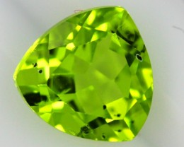PERIDOT FACETED STONE  2.20  CTS    SG -1902