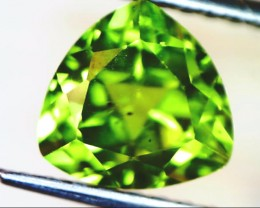 PERIDOT FACETED STONE  1.95  CTS    SG -1961