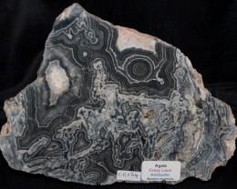 Agate, Crazy Lace Slab, Western Australia (GR134)
