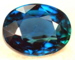 CERTIFIED BLUE SAPPHIRE UNTREATED 1.02 CTS  C04830 TBM-341