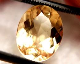 CERTIFIED - 3.51 Ct VVS1 Superb South American Golden Beryl
