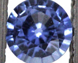 0.65  CTS TANZANITE FACETED VIOLET BLUE  RNG-66