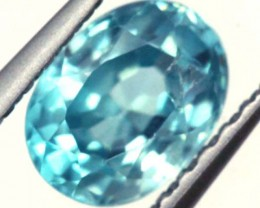 BLUE ZIRCON FACETED STONE 1 CTS  PG-1062