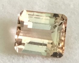 Emerald Cut 1.37ct Golden Topaz VVS TH10