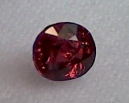 Beautiful 1ct Firey Red Spinel  Burma VVS TH11