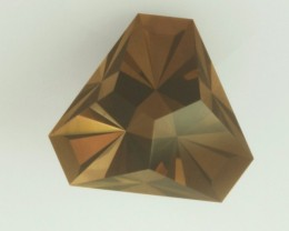 1.78ct PRECISION MASTERCUT MONTANA SMOKY QUARTZ USA TRINITY TRILLION