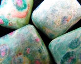 109 Grams  Tumbled Zoisite Gemstones  MYGM 722