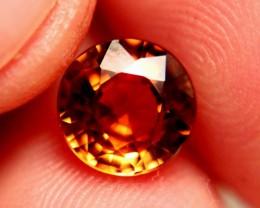 3.38 Carat VVS1 African Golden Orange Zircon - Superb