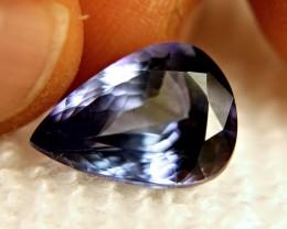 CERTIFIED - 7.47 Ct. IF/VVS1 Purple / Blue Tanzanite Beauty