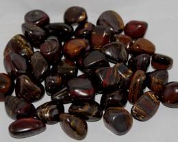 Banded Tiger Iron Stomatolite  Tumbles  Australia (GR201)