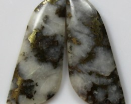 13.15 CTS AGATE PAIR POLISHED STONES GREAT RANGE IN STORE