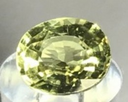 1.5ct MintyGreen Mali Garnet - W Africa VVS TH47 G207