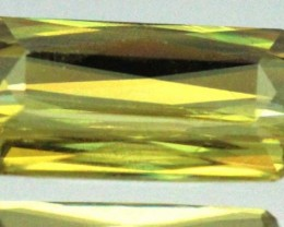 1.40 CTS YELLOW TOURMALINE FACETED    PG-330