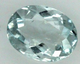 1.5 CTS AQUAMARINE FACETED STONE  PG-334