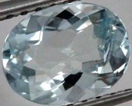 2   CTS AQUAMARINE FACETED STONE PG-339