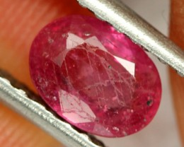 1.03 CTS BRIGHT AFRICAN RUBY - TOP GRADE STONE (RUB59)
