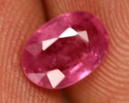 1.07 CTS BRIGHT AFRICAN RUBY - TOP GRADE STONE (RUB64)