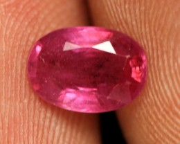 1.09 CTS BRIGHT AFRICAN RUBY - TOP GRADE STONE (RUB70)