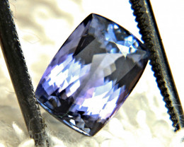 2.86 Carat IF/VVS1 African Purple/Blue Tanzanite - Gorgeous