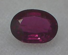 .65ct' Ruby like' Red Lusterous Spinel VVS TH70