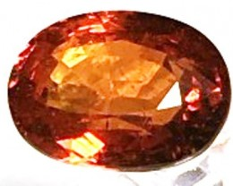 CERTIFIED Large 4.68ct Spessarite Orange Garnet VVS TH71