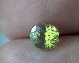 1.5ct Stunning Lime Green Mali Garnet - VVS TH72