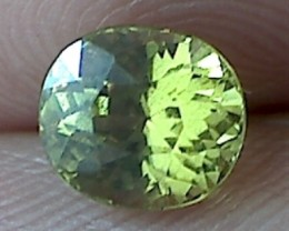 1.5ct Stunning Lime Green Mali Garnet - VVS TH72G214