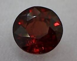 2.6ct Lovely Rose Red, very firey Rhodolite Garnet VVS TH75