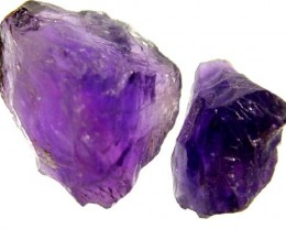 10.70 CTS AMETHYST  NATURAL ROUGH (PARCEL)   FN 1975  (LO-GR)